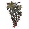 Weathered Metal Grape Wall Decor