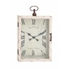 Benzara The Beautiful Wood Metal Wall Clock