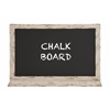 Attractive Styled Wood Blue Blackboard
