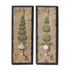 Benzara Attractive Wooden Wall Decor 2/Asst