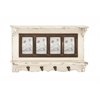 Benzara All Rounder Wood Wall Photo Shelf