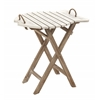 Benzara Simple Exquisite Wood Folding Table