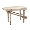 Benzara Timeless And Classic Wood Boat Table