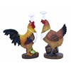 Rooster Chef With Unique Style (Set Of 2)