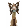 Benzara Attractive Styled Polystone Metal Fairy
