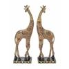 "Benzara Gorgeous Polystyrene Giraffe 2 Assorted 5""W, 14""H"