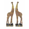 "Benzara Adorable Polystyrene Giraffe 2 Assorted 5""W, 14""H"