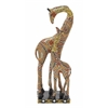 "Striking Polystyrene Double Giraffe 6""W, 16""H"