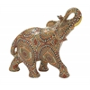 "Enticing Polystyrene Elephant 12""W, 10""H"