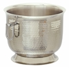 "Benzara Stainless Steel Double Wall Bucket 11""W, 8""H"