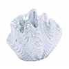 Elegant And Charming Polystone Sea Shell With Sparkling Texture