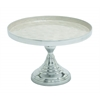 Benzara Contemporary Big Size Aluminum Cupcake Stand In Silver Finish
