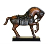 Benzara Polystone Horse Unique Table Decor