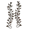 Benzara Metal Wall Decor Pair Attracts Every Nature Lover