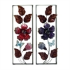 Enticing Metal Wall Decor 2 Assorted, Multicolor