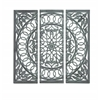 Modern Wooden Carved Mirror Panel In Intricate Detail Work