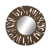 """Benzara Amazing Wood Carved Wall Mirrors 47""""D"""