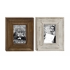 "Classy Wood Photo Frame 2 Assorted 10""W, 11""H"