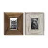 Benzara Wood Photo Frame 2 Assorted