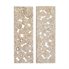 Excellent Wood Panel 2 Assorted, Natural brown color