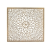 Designer Wooden Handicrafts Wall Panel, Natural brown color
