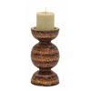 Benzara Sassy Metal Mosaic Candle Holder