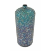 Benzara Enticing Metal Mosaic Vase