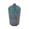 Benzara Gorgeous Metal Mosaic Vase