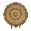 Benzara Captivating Metal Mosaic Platter With Easel
