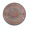 Benzara Stunning Metal Red Mosaic Wall Platter