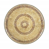 Benzara Enticing Metal Mosaic Wall Platter