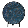 Classy Metal Mosaic Platter With Stand