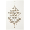 "Metal Butterfly Windchime 15""W, 36""H"