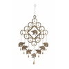 Benzara Elite Metal Elephant Windchime