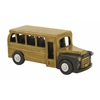 Benzara Fantastic And Alluring Wood Bus