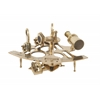 "Benzara Durable Brass Sextant 9""W, 4""H"