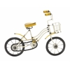 "Metal Wood Bicycle 13""W, 10""H"