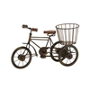 Mtl Wd Tricycle 12-Inch W, 8-Inch H