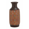 Benzara Fascinating Styled Terracotta Vase