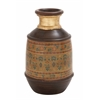 Benzara Beautiful Well Designed Terracotta Painted Vase