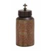 Benzara Fascinating Styled Terracotta Painted Jar