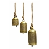 "Benzara Metal Rope Bell Set/3 22"", 16"", 13""H Unique Home Accents"