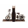 Benzara Bookend Sporting A Cycle Shaped Design