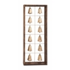 Benzara The Spiritual Wood Metal Bell Frame