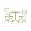 The Different Metal Bistro Set Of 3
