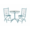 Benzara Simply Too Cool Metal Bistro Set Of 3