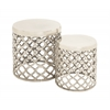 Simply Stylish Aluminumn Stool Set Of 2