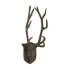 Benzara Traditional Aluminum Wall Antler