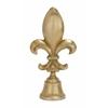 Benzara Attractive Aluminum Fleur Di Lis Bell