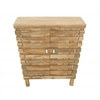 Benzara Chic Wood Cabinet